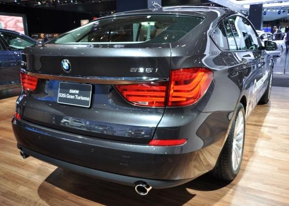 BMW 535GTi, фото кузовов, описание модели
