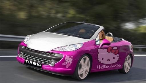 Выбор автомобиля для женщины, Peugeot 207