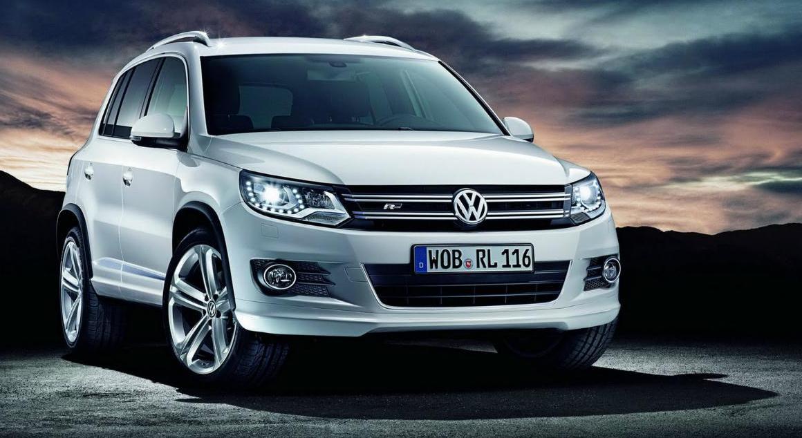 Выбор автомобиля для женщины Volkswagen Tiguan