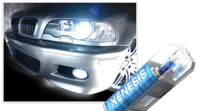 Установка ксеноновых ламп на автомобиль в противотуманные фары