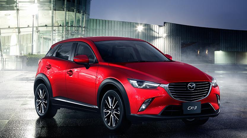 Mazda новый кроссовер CX-3