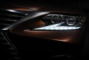 В апреле компания Lexus представит ресталинг седана ES