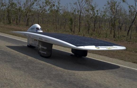 автомобили, работающие на солнечной энергии