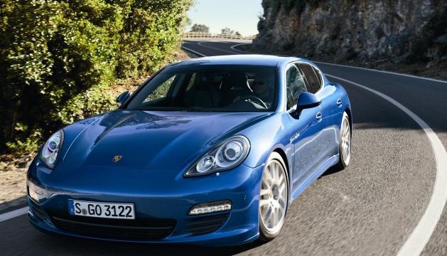 Интересный новый Porsche Panamera