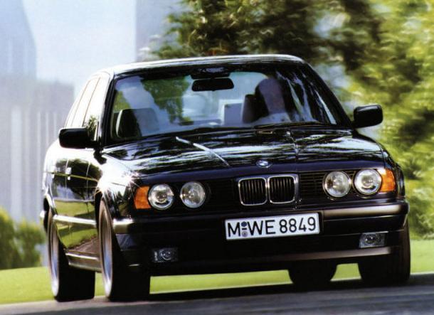 BMW 525 - фото, видео знаменитой пятерки