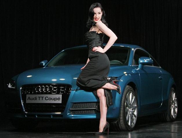 Выбор автомобиля для женщины Audi TT
