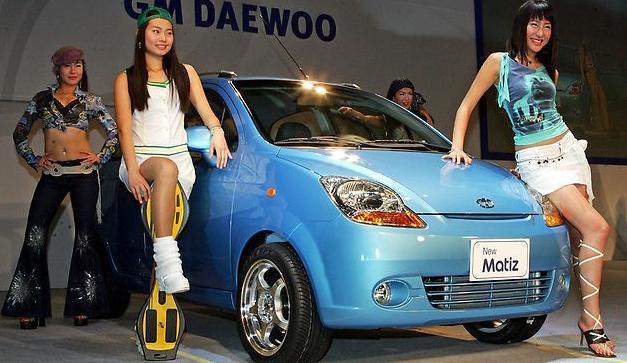 Комфорт Daewoo Matiz для женщины