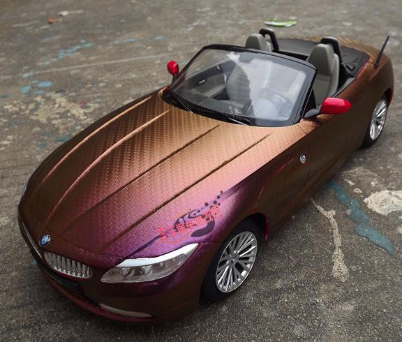 Создание собственного стиля авто - оклейка автомобиля виниловой пленкой