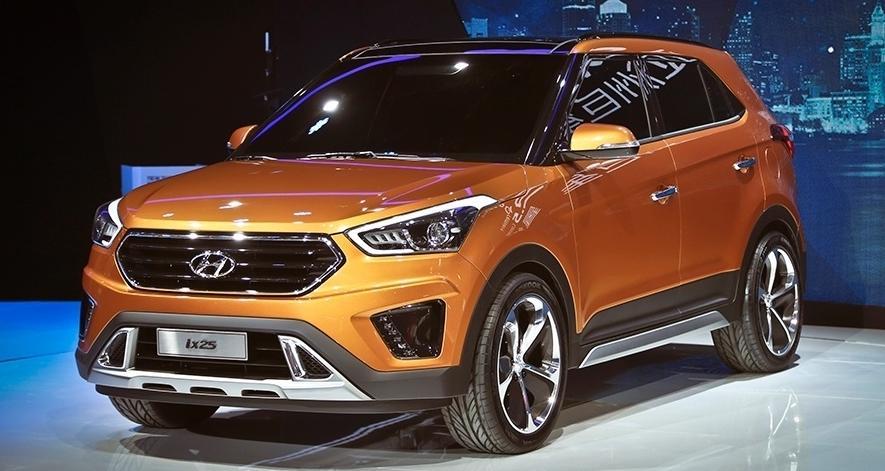 Скоро появится в продаже новый кроссовер Hyundai ix25